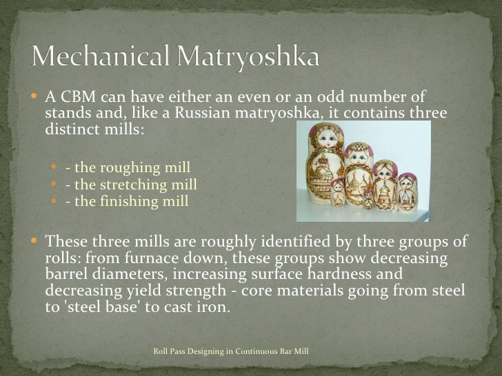 <ul><li>A CBM can have either an even or an odd number of stands and, like a Russian matryoshka, it contains three distinc...
