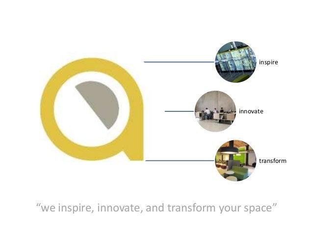 "inspire                                        innovate                                              transform""we inspire,..."