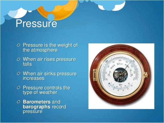 Recording pressure