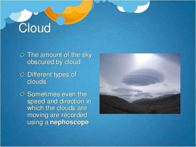 Cloud Types -Cumulonimbus