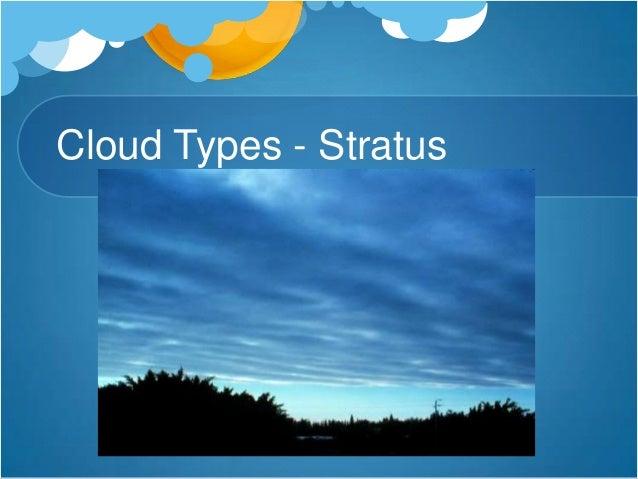 Cloud Types - Cirrus