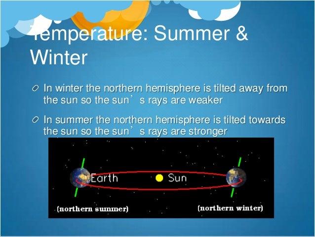 Temperature: The Sea                  The North                  Atlantic Drift is                  a warm ocean          ...