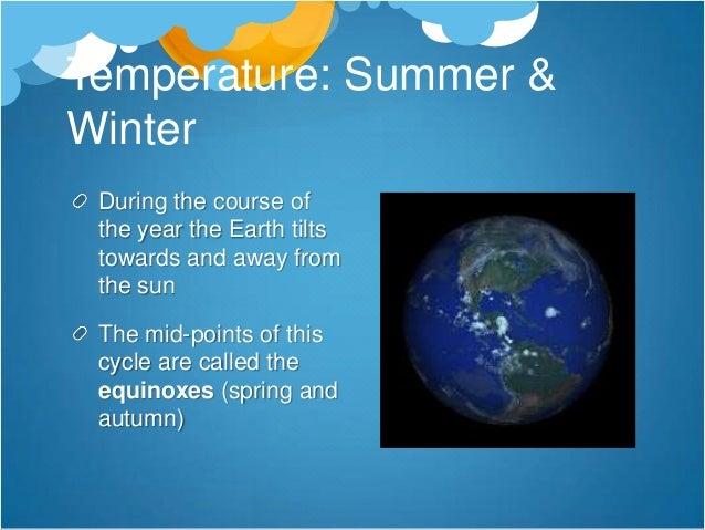 Winter in Canada & Britain