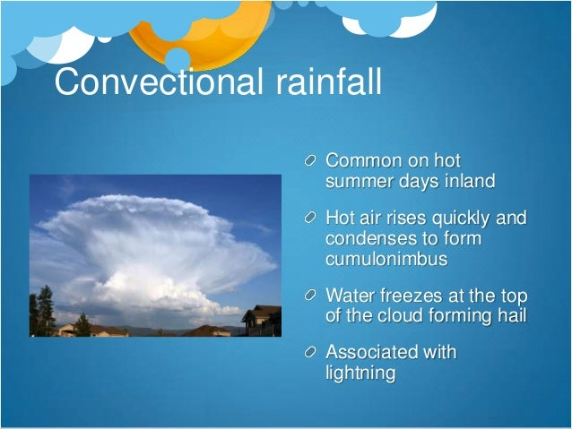 Forecasting the Weather Modern forecasts use computers to simulate the likely weather based on careful observations from 1...