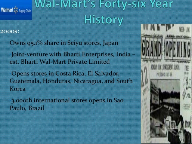 walmart supply chain management
