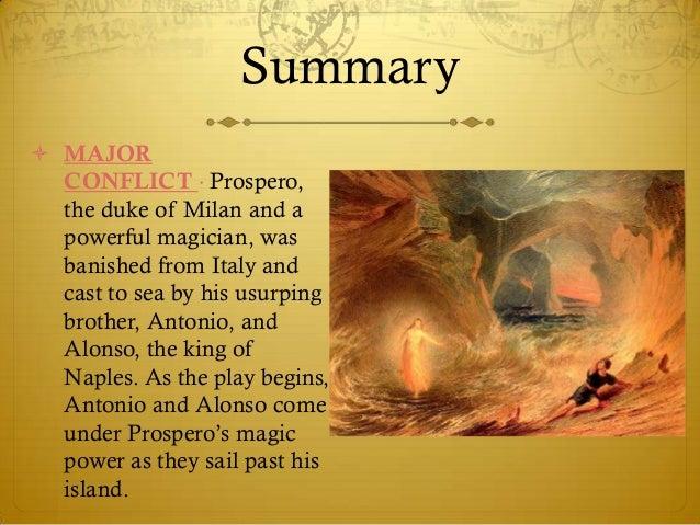 Tempest drama summary