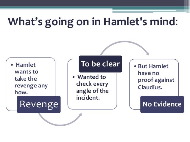 an analysis of the theme of revenge in william shakespeares play hamlet Major themes in william shakespeare's hamlet or feigned remains an open question throughout the play revenge revenge is a prominent theme in hamlet and a.