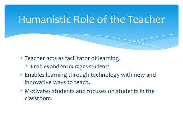 Learning Theory PPT (Humanism)