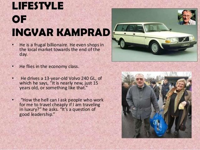 Ingvar Kamprad's leadership style