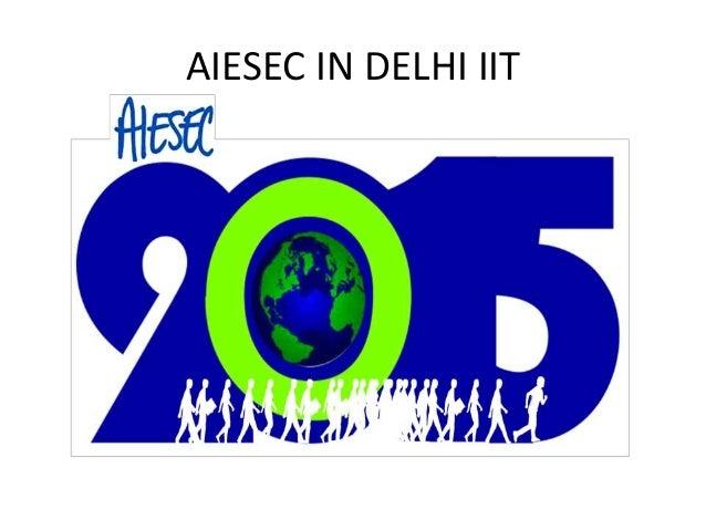 AIESEC IN DELHI IIT
