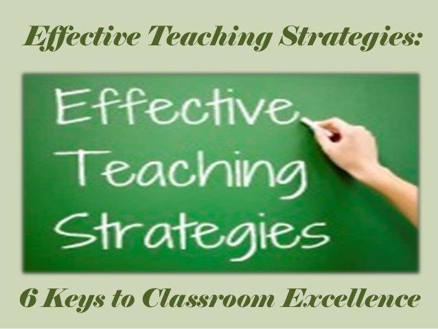 teaching strategies for kindergarten