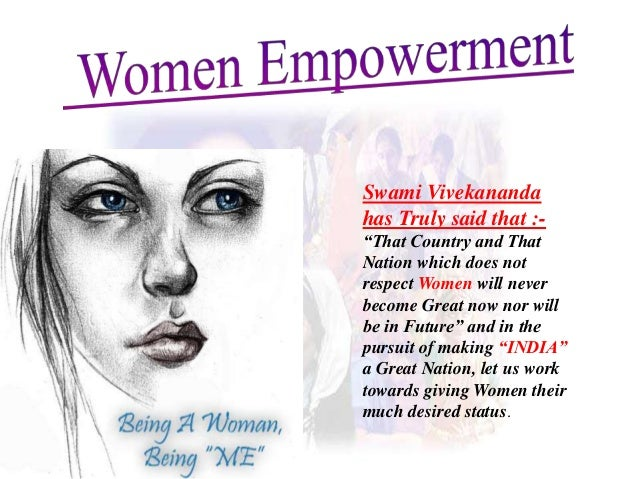 women impowerment speach Essays - largest database of quality sample essays and research papers on speech on women empowerment.