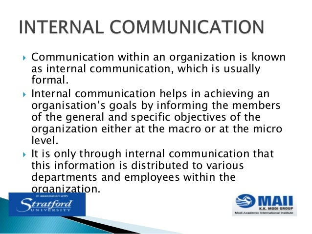 4 goals of business communication