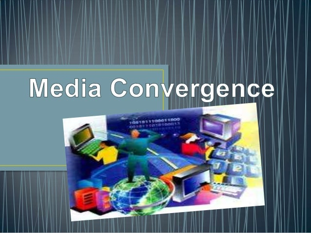 """coming together of different equipment and tools for producing and distributing news"" (Grant and Wilkinson, 2009) The com..."