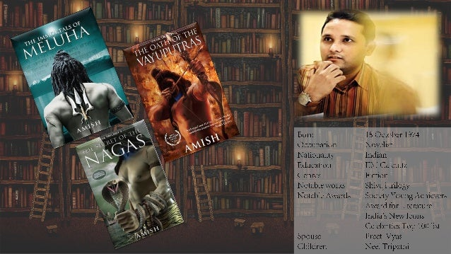 INTRODUCTION Amish Tripathi, the banker whose manuscript was famously rejected by 20-odd publishers, has become India's fa...