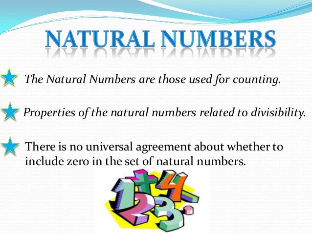 Natural Numbers Ppt For Class 9 Th