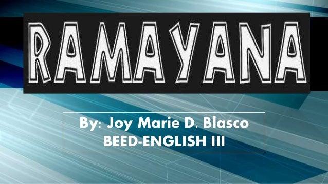 By: Joy Marie D. Blasco BEED-ENGLISH III