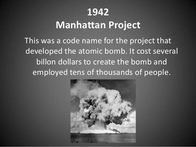 account of the manhattan project This documentary examines the manhattan project through government files, archival footage and accounts of surviving members of the developing team, including paul tibbets, pilot of the enola gay, and directors of the oak ridge national laboratory allthough the atomic bomb was never officially used after worldwar 2, the potential.