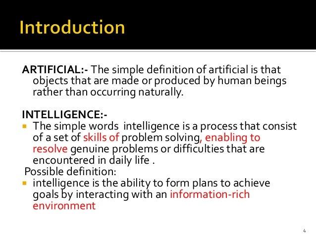 Artificial intelligence for Define minimalist