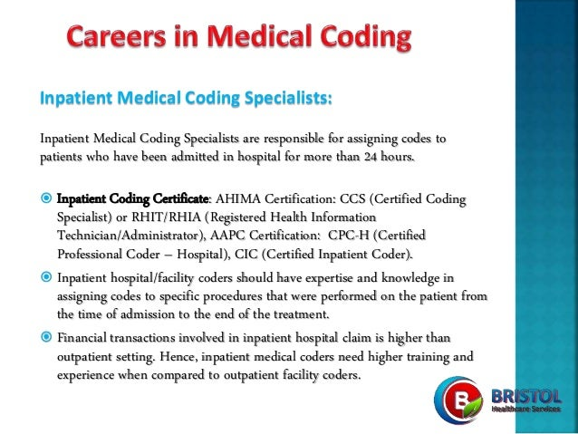 Bristol Healthcare Services - Careers in Medical Coding