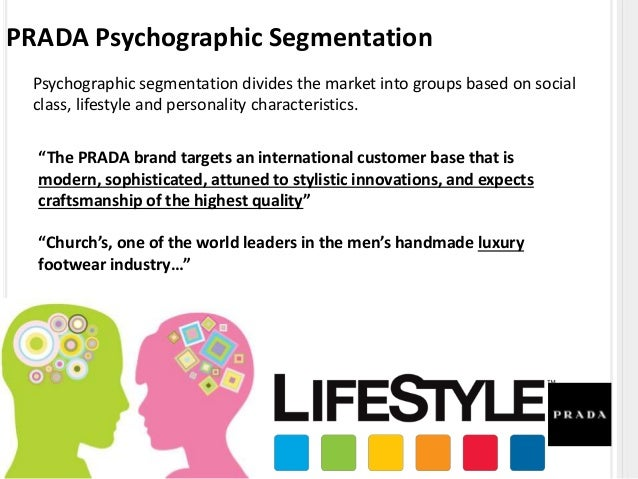 PRADA Segmentation Based on Behaviour Or Benefit Behavioral segmentation is dividing a population based on their behavior,...