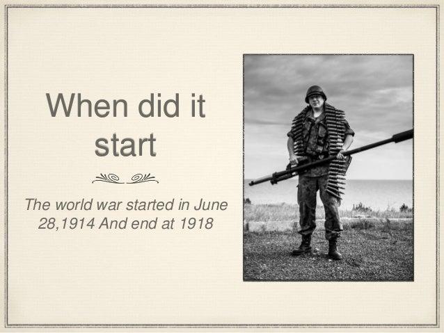 World war 1 by MS