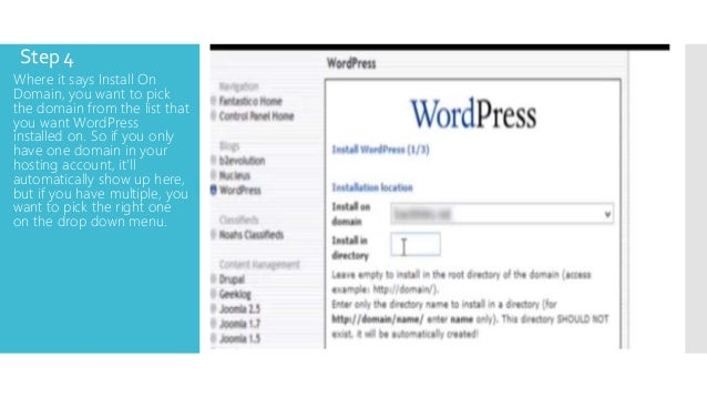 HOW TO SET UP A WORDPRESS BLOG FROM SCRATCH