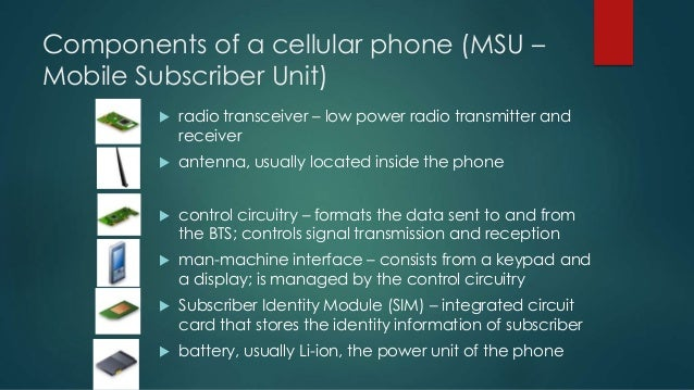 How cell phone work?