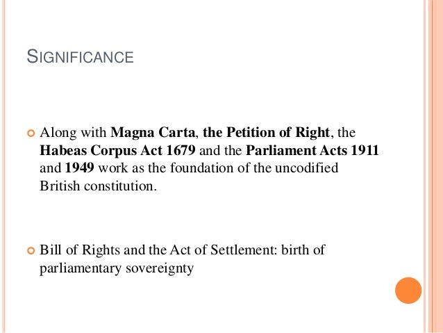 Delightful Amazing Amazing SIGNIFICANCE  Along With Magna Carta, The Petition Of ..