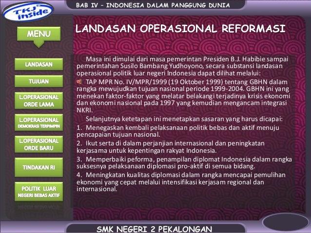 Citaten Politiek Luar : Politik luar negeri indonesia