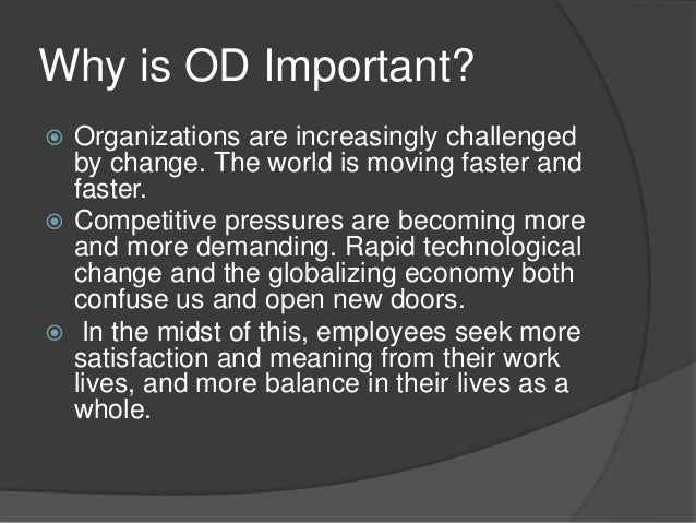 importance of organization manual A practical manual for developing all of this has been framed in the context of the importance of community and organization of.
