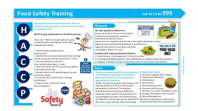 Haccp food safety made easy - Procedure haccp cuisine ...