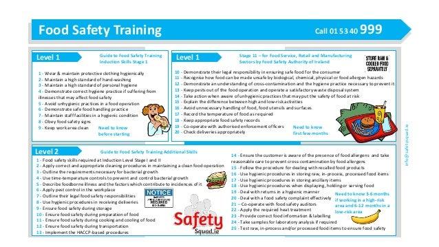 Guide On Food Safety Premises