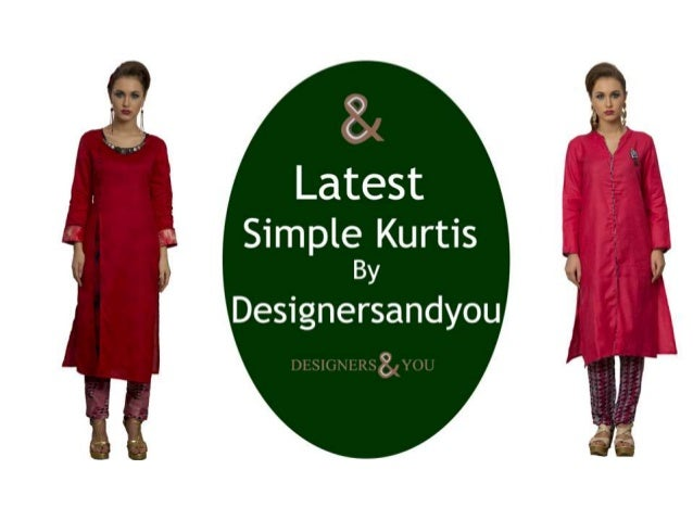 Latest Designs Of Designer Kurti Patterns Of 2017 With Long