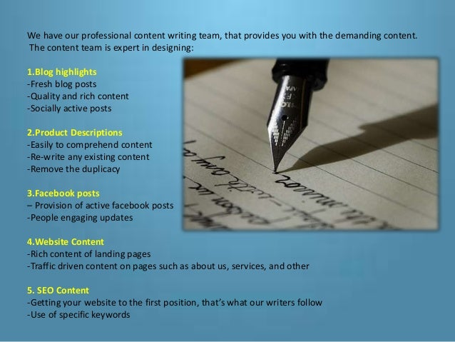 Content writing services company in hyderabad