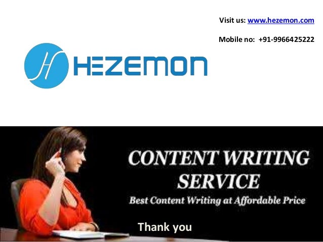 Content writing services in hyderabad