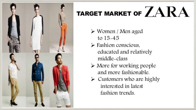 zara market segment Van der vis said the company has positioned esprit in a different market segment  from rivals like zara, h&m and mango the esprit woman.