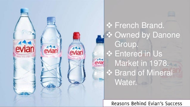 evian water price in france