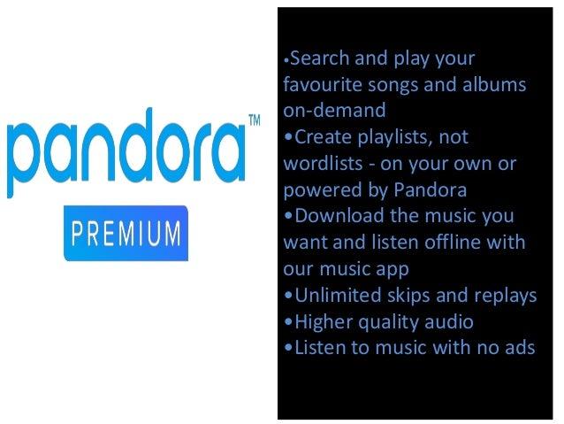 Pandora radio-marketing plan