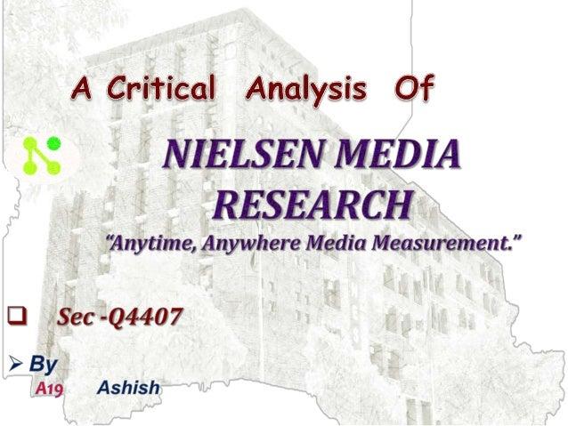 nielsen media research case study