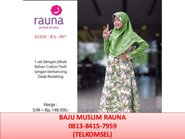 Baju Wanita Muslim Santai 0813 8415 7959 Telkomsel