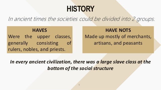 examples of social stratification in school