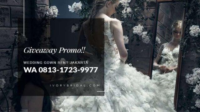 Wa 0813 1723 9977 Baju Pengantin Modern Gaun Putih