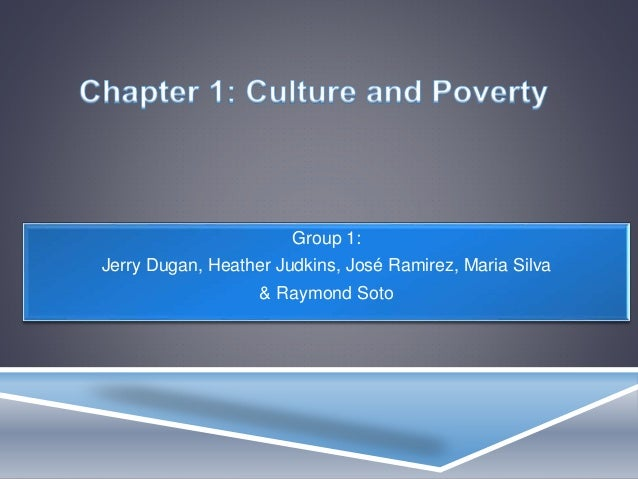 Group 1: Jerry Dugan, Heather Judkins, José Ramirez, Maria Silva & Raymond Soto