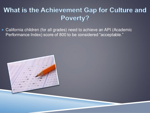 culture and poverty relationship