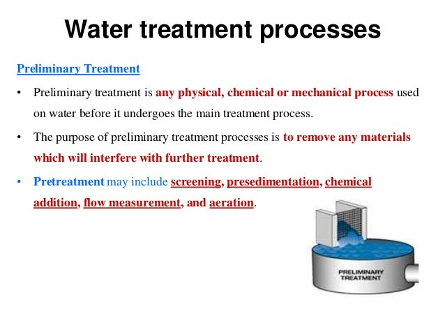 Water Quality Control And Treatment Water Treatment