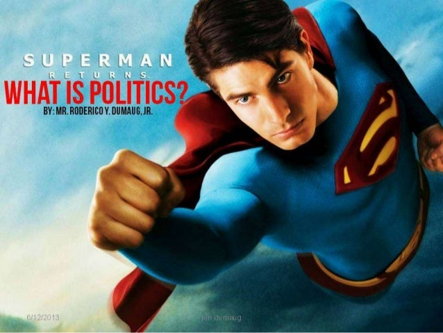 INTRODUCTION TO POLITICS: SECOND DAY