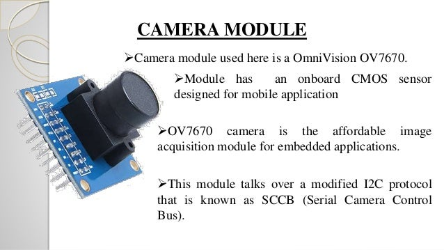 Arduino Camera Interfacing Ov7670