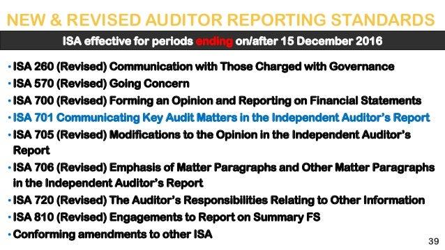 international standards on auditing pdf 2016