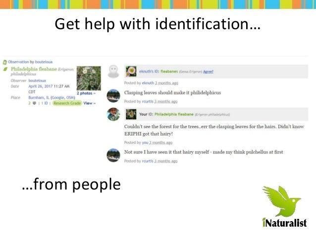Quick Intro to iNaturalist Slide 2